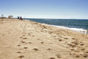Плажовете на град Керамоти в Гърция